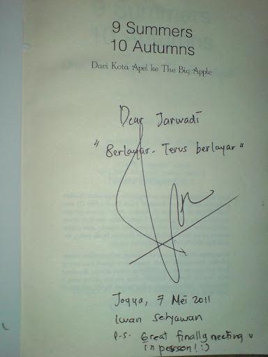 Iwan Setyawan 9 Summers 10 Autumns