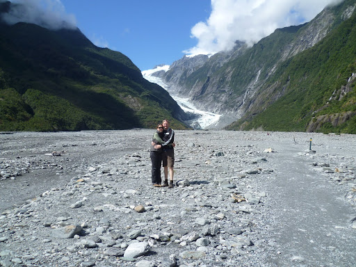 Still a long way from the Franz Josef Glacier