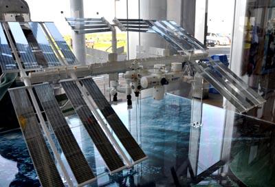 国際宇宙ステーション模型