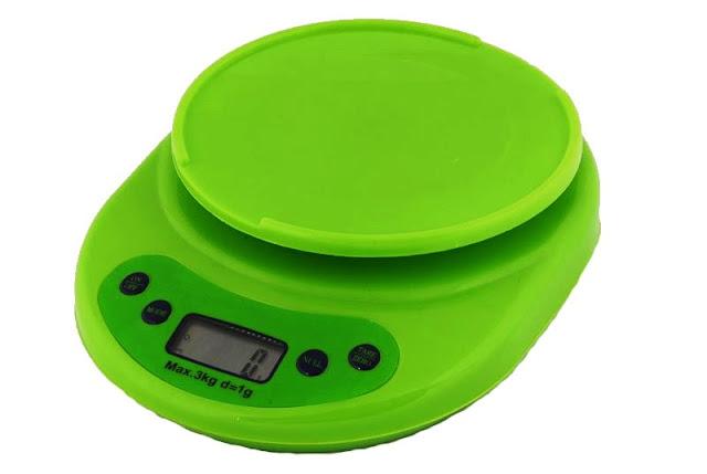 Peso o balanza de colores digital de cocina 0 1 a 5000gr for Balanza cocina 0 1 g