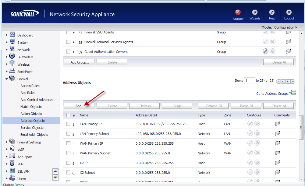SonicWall – How to Block Everyone from the Gmail Website