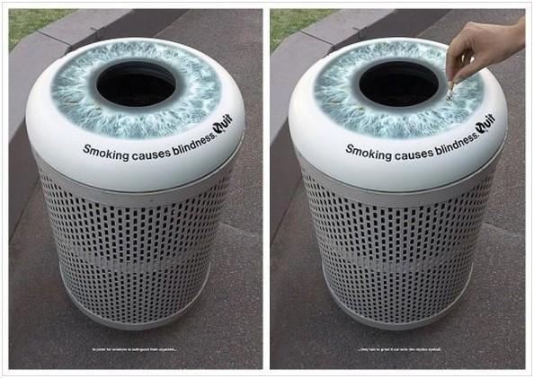 Cigarette urn