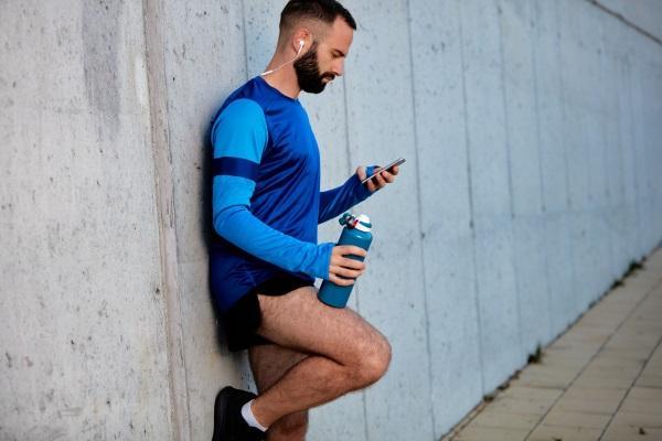 smart water bottle runner