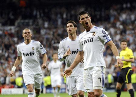 Ronaldo, Real Madrid - Tottenham HotSpur