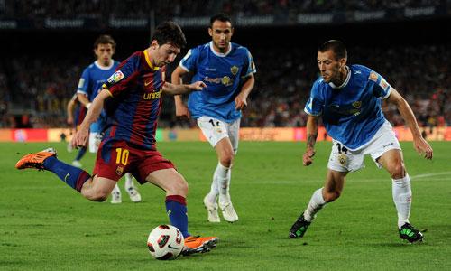 Messi, Barcelona - Almeria
