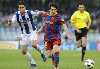 Messi, Real Socidad - Barcelona