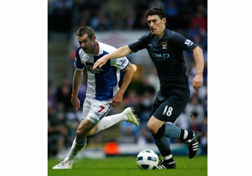 Gareth Barry, Blackburn - Manchester City