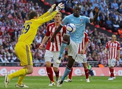 Baloteri, Manchester City - Stoke City