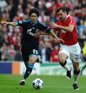 Gibson, Manchester United - Schalke 04