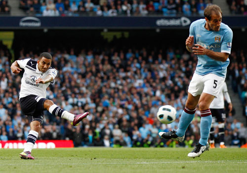 Aaron Lennon shooting, Manchester City - Tottenham HotSpur