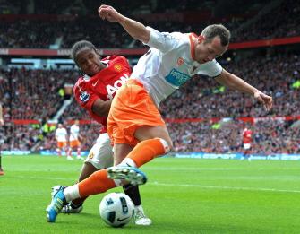 Chalie Adam, Manchester United - Blackpool