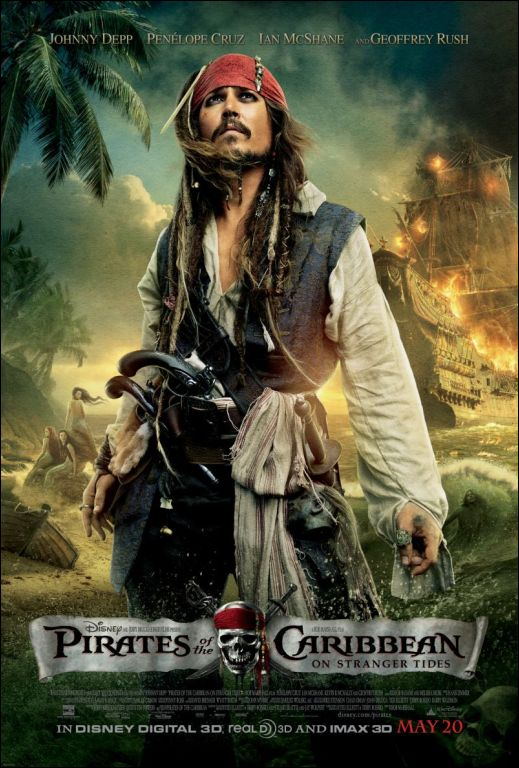 Pirates of the Caribbean: On Stranger Tides Johnny Depp Disney