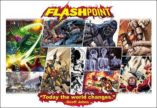 DC Comics Flashpoint Geoff Johns Andy Kubert