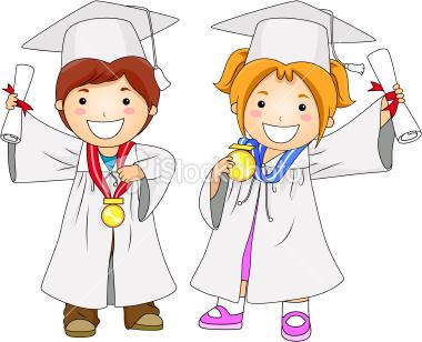 niños graduados colouring pages (page 3)