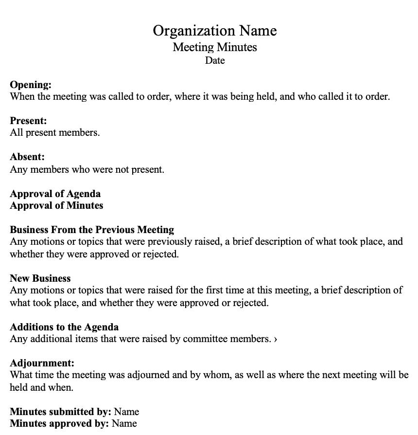 contoh-format-of-meeting-tatiana