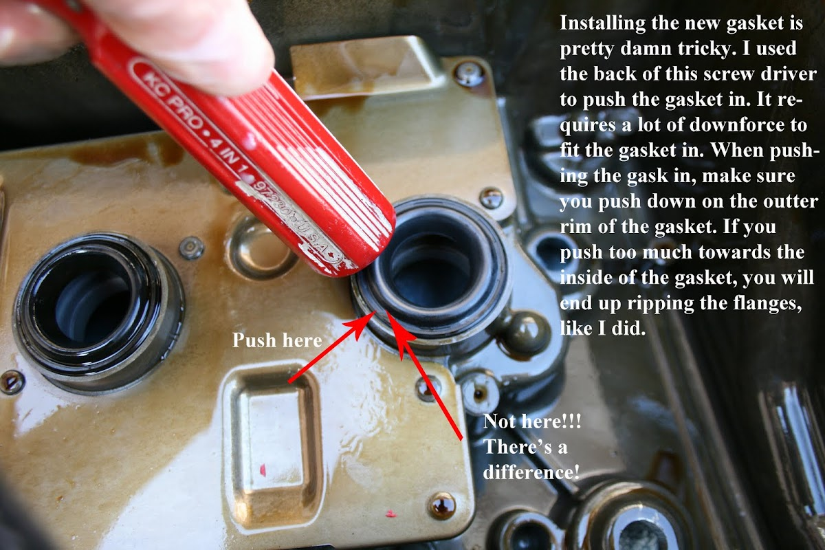 DIY: Valve Cover Removal and Valve Cover Gasket Replacement - AcuraZine -  Acura Enthusiast Community