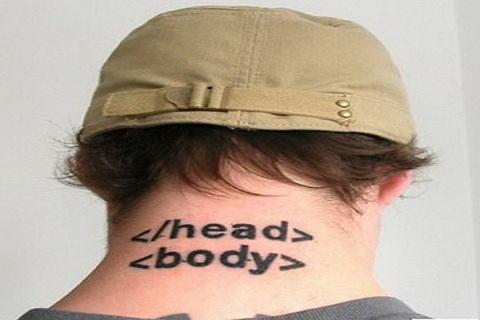 Татуировка для веб-мастеров и сеошников