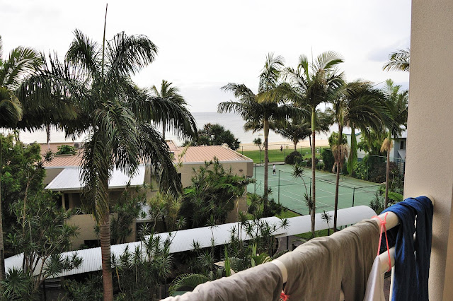 部屋からの景色の写真