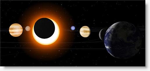 Visita el Sistema Solar a través de este simulador interactivo 3D