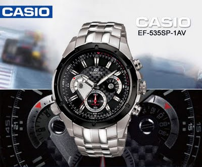 Jual Jam Tangan Casio Edifice Chronograph   ef-535sp  deaf3ec240