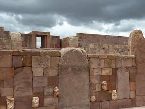 Vue sur le temple de Kalasasaya