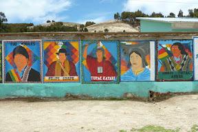 Les héros de la Bolivie