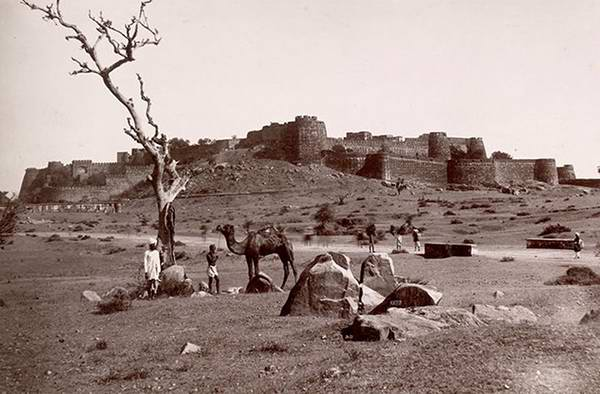 Old India Photos - Jhansi Fort in 1857