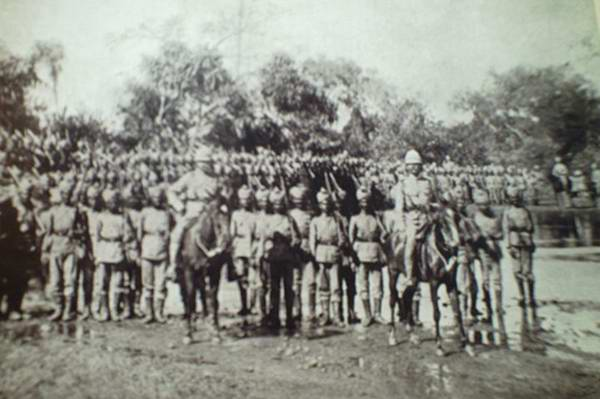 Old India Photos - Tatya Tope and troops, 1857