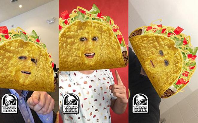 Маски Taco Bell