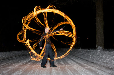 Fire Spinning - John Walsh