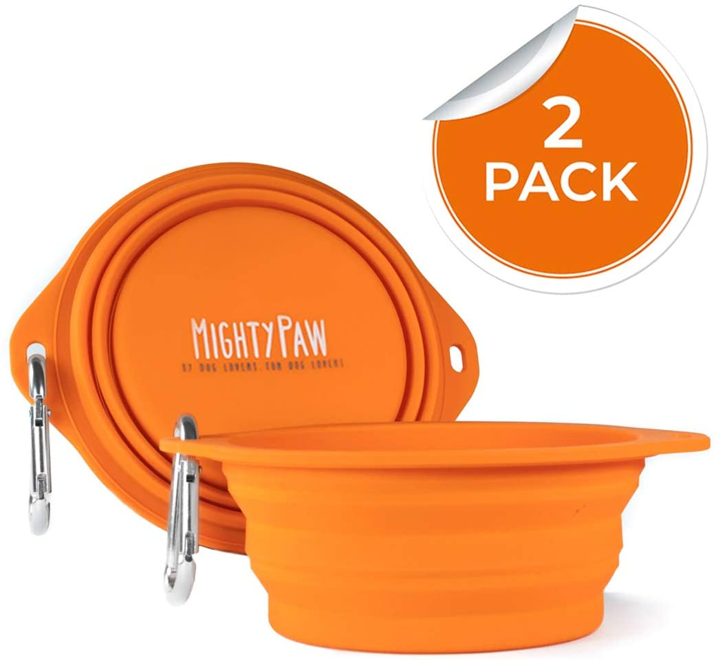 Mighty Paw Collapsible Travel Bowl