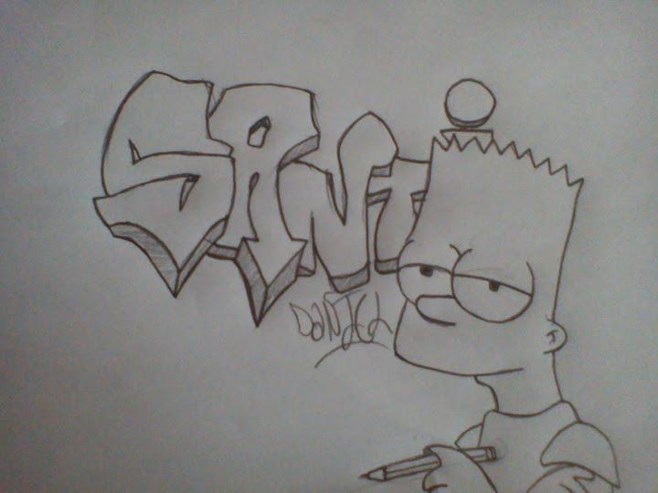 Dibujos de graffitis a lápiz imagui , Imagui