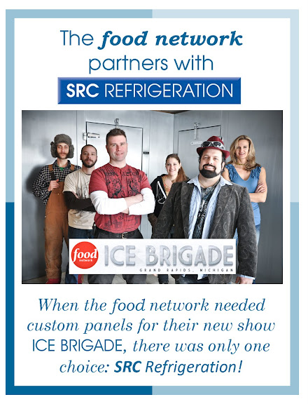 SRC Walk in Cooler for Ice Brigade