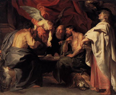 The Four Evangelists, by Peter Paul Rubens