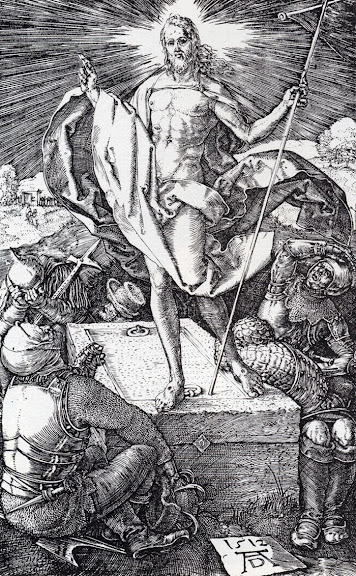 Resurrection of Christ, by Albrecht Dürer