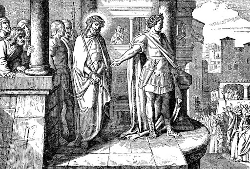 Christ before Pilate, the Roman Governor of Judea
