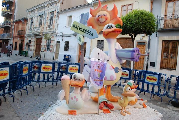 Falla INFANTIL 2011 Falla Plaza de la Morería de Mislata. 8º Premio Sección 12ª