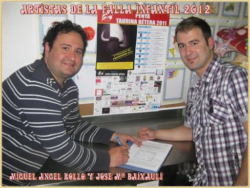 FALLA ,GRAN VÍA DEL SUR YA TIENE ARTISTAS PARA 2012
