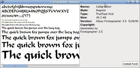 Kako instalirati fontove u Ubuntu 10.04