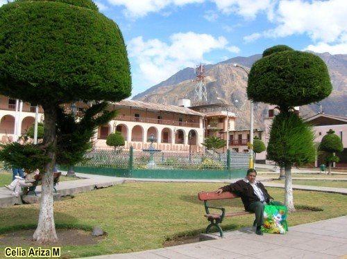 Plaza de Armas de Canta