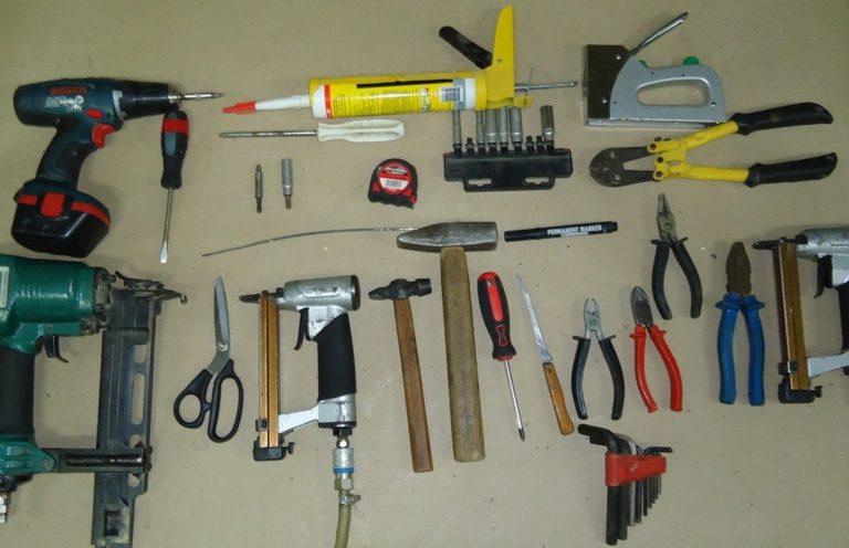 Инструменты для производства кровати с подъемным механизмом