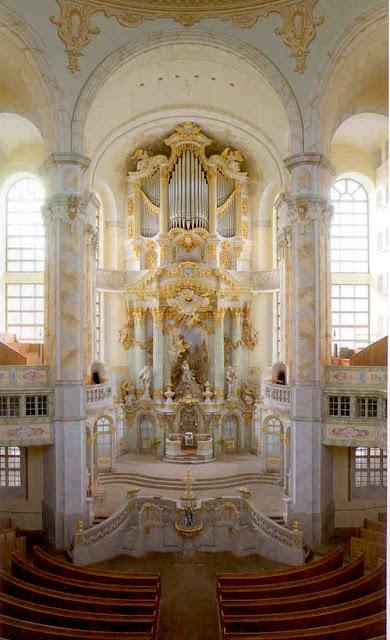 Frauenkirche, Dresden - Chancel Area