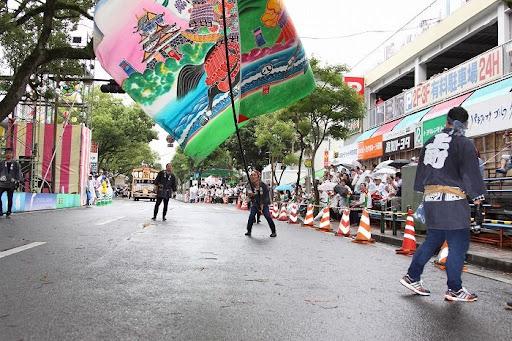 本祭2日目 追手筋本部競演場  106     D-15910