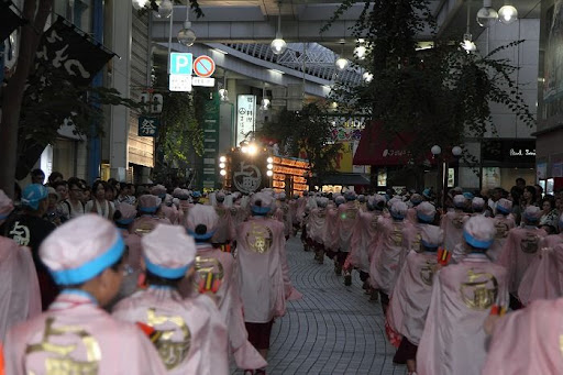 本祭2日目 帯屋町筋演舞場  72     D-16061