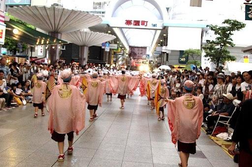 本祭2日目 帯屋町筋演舞場  68     D-16050
