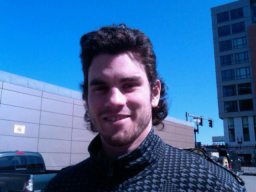 Adam McQuaid pompador