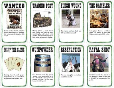 BANG O. K. Corral Unofficial Expansion Cards