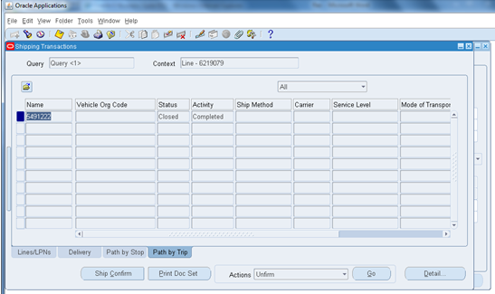 ORACLE MASTERMINDS: MANUAL SHIP CONFIRM PROCESS IN ORDER MANAGEMENT