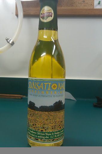 Locally Grown Ohio Sunflower Oil