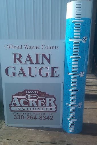 Wayne County Rain Gauge